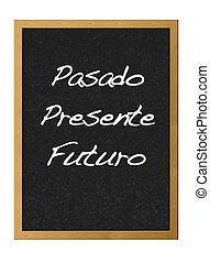 passato, future., presente