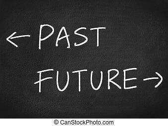 passato, futuro, concetto