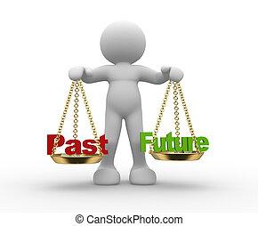 passato, futuro, scala