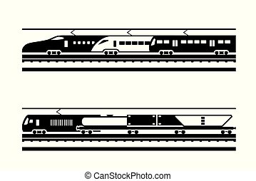 passeggero, ferrovia, trasporto, nolo