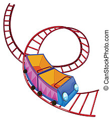 passeio, coaster, rolo