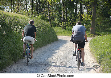 passeio, mountainbike