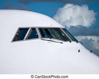 Passenger aircraft top