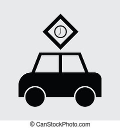 passenger car icon