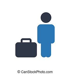 passenger  glyph color icon