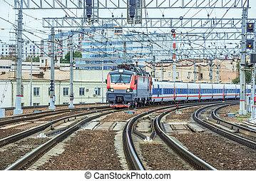Passenger high-speed train.