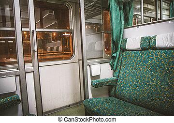 Passenger railroad car