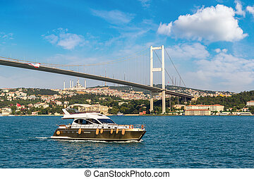 Passenger ship in Istanbul