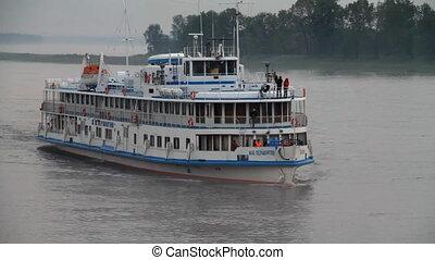Passenger ship.