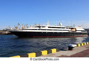 passenger ship - luxurious passenger ship