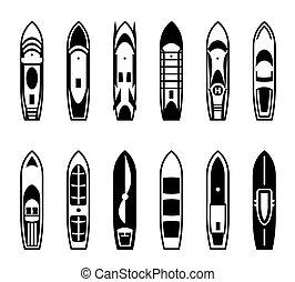 Passenger ships and boats