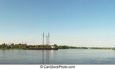 Passenger ships river cruise