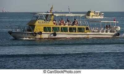 passenger ship,yachts & speedboats