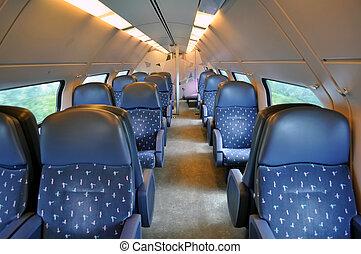 Passenger train coach