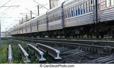 Passenger train travel