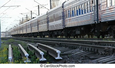 Passenger train travel