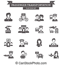 Passenger Transportation Icon