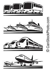Passenger transportation vehicles