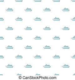 Passenger vehicle pattern. Cartoon illustration of passenger vehicle pattern for web