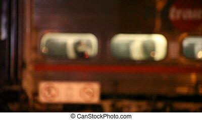 passengers, посадка, поезд