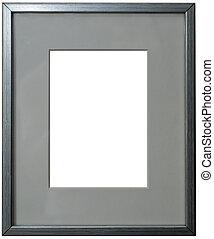 passepartout, zilver, frame