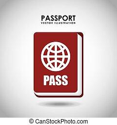 passeport, identification