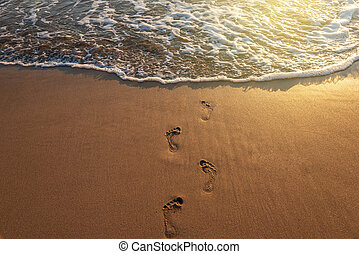 passi, spiaggia