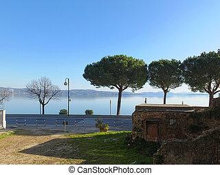 Passignano sul Trasimeno, small town on the homonym lake in...