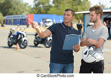 passing a motorbike drivers license