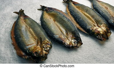 Passing Kippers On Ice