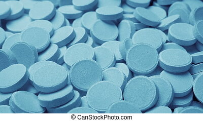 Passing Pile Of Medical Tablets