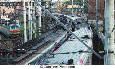 passing trains