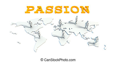 Passion Concept with Business Team