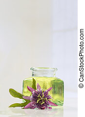 Passion flower aromatherapy essential oil