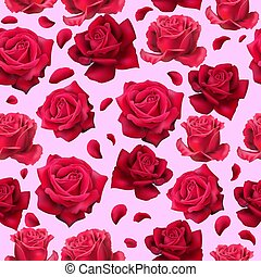 Passion Red pattern