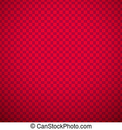 Passionate vector pattern (tiling). Hot red color. Endless...