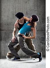 passione, ballo, coppia.