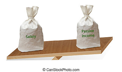 passive income and salary