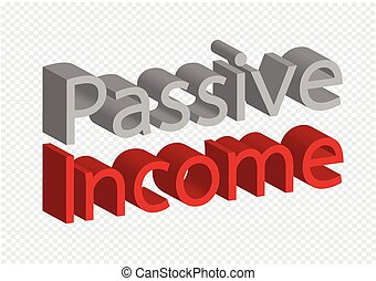passive income recurring incomes concept idea