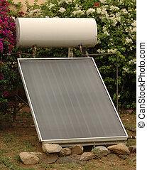 Passive solar hot water heater