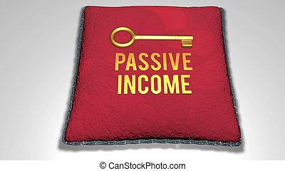 passivo, conceito, renda