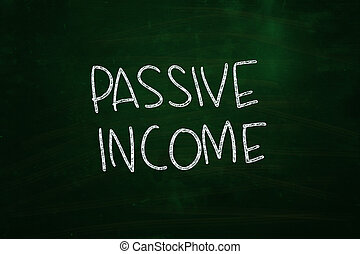 passivo, renda