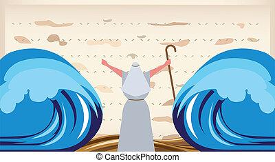 passover, egypt., invito, fuga