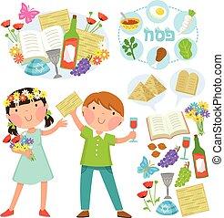 Passover illustratios