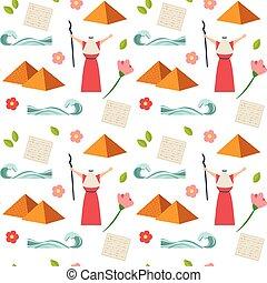 Passover seamless pattern. Seder pesach invitation, greeting...