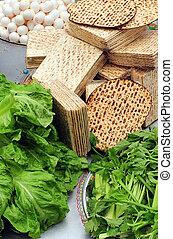 Passover Seder Dinner Celebrations - Table Ready For...