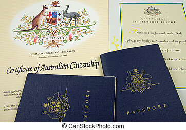 passport and citizenship documents