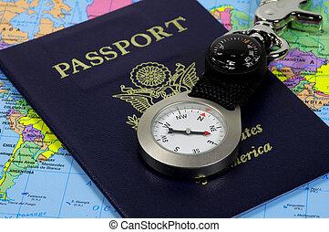 Passport and Compass