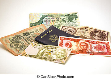 Passport and Foreign Currency 1