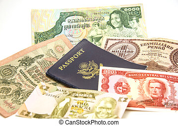 Passport and Foreign Currency 2